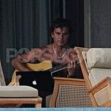 Gavin and Kingston Playing Music in Hawaii