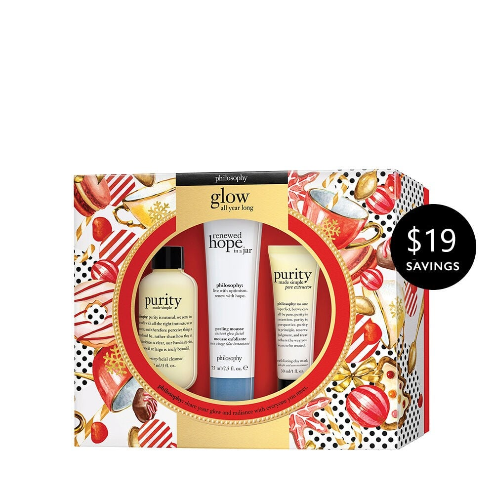 Philosophy Glow All Year Long Skin Care Set