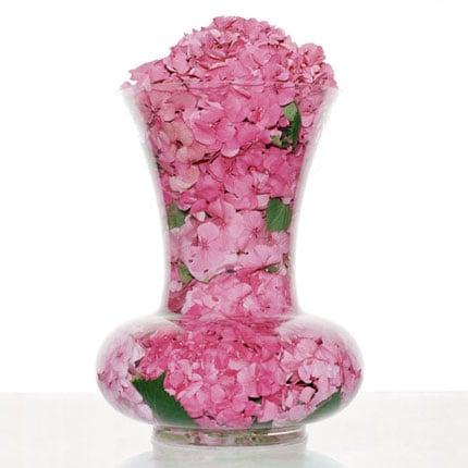 Cool Idea: Petal-Filled Vase