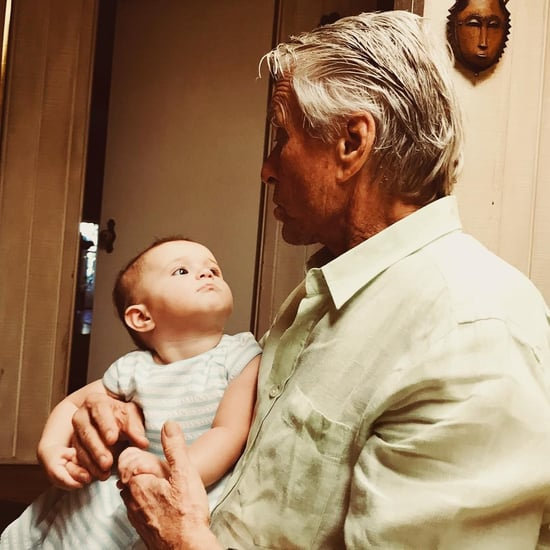 Michael Douglas's Granddaughter Lua Pictures