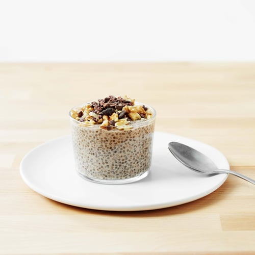 Breakfast: Banana Walnut Chia Pudding