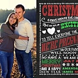 Expecting Baby Holiday Card