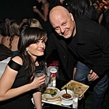 Elizabeth Reaser and Michael Chiklis noshed at the Breaking Dawn afterparty.