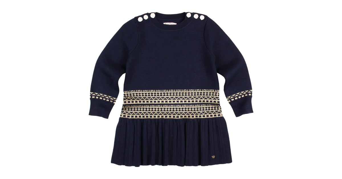 Juicy Couture Metallic Fair Isle Dress | Sweater Dresses For ...