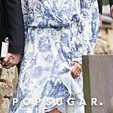 Meghan Markle's Oscar de la Renta Wrap Dress 2018