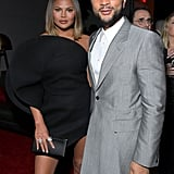 Chrissy Teigen and John Legend at the 2020 Sony Music Grammys Afterparty