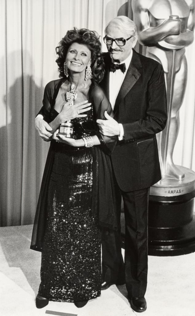 Sophia Loren And Gregory Peck 1991 Pictures From The