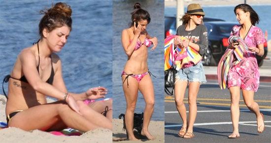 Bikini Photos of Shenae Grimes and Jessica Lowndes