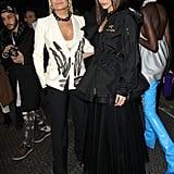 Gigi, Bella, and Yolanda Hadid Walk in the Off-White Show