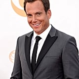 Will Arnett was all smiles at the Emmys.