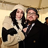 Pictured: Cher and Chaz Bono