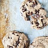 Vegan Caramel Chocolate Chip Cookies
