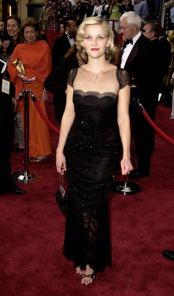 Reese Witherspoon in Valentino at 2002 Oscars