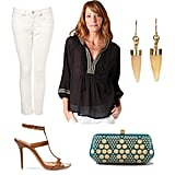 How to Wear a Tunic: Dinner and Drinks