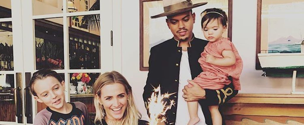 Ashlee Simpson and Evan Ross Family Pictures