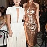 Jenna Coleman and Gemma Arterton