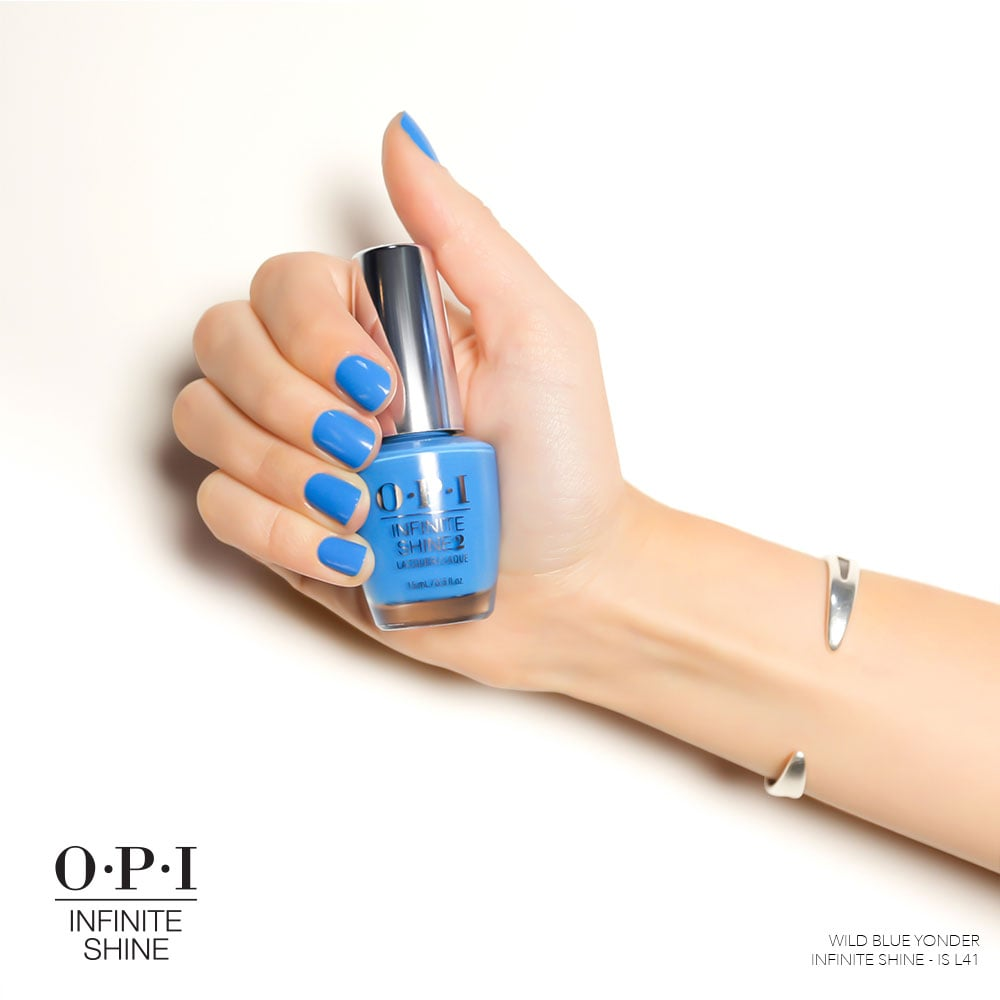 OPI Nail Lacquer in Wild Blue Yonder