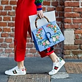 Gucci Ace Studded Low-Top Sneakers