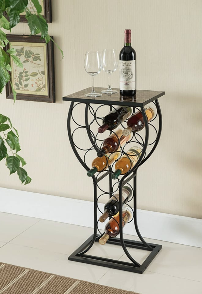 Kings Brand Furniture Metal Wine Rack