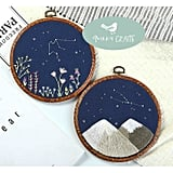 Zodiac Constellation Beginners Embroidery Kit