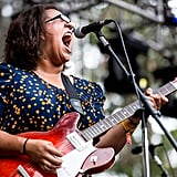 "Brittany Howard of Alabama Shakes sang their single ""Hold On."""