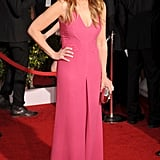 Julia made the case for hot pink in a Valentino jumpsuit at the 2014 SAG Awards.