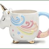 Unicorn-Shaped Mug