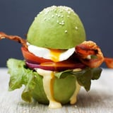 Egg Sandwich With Avocado Buns Recipe