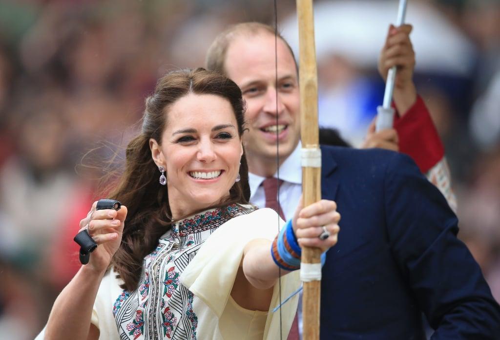 Kate Middleton Playing Sport