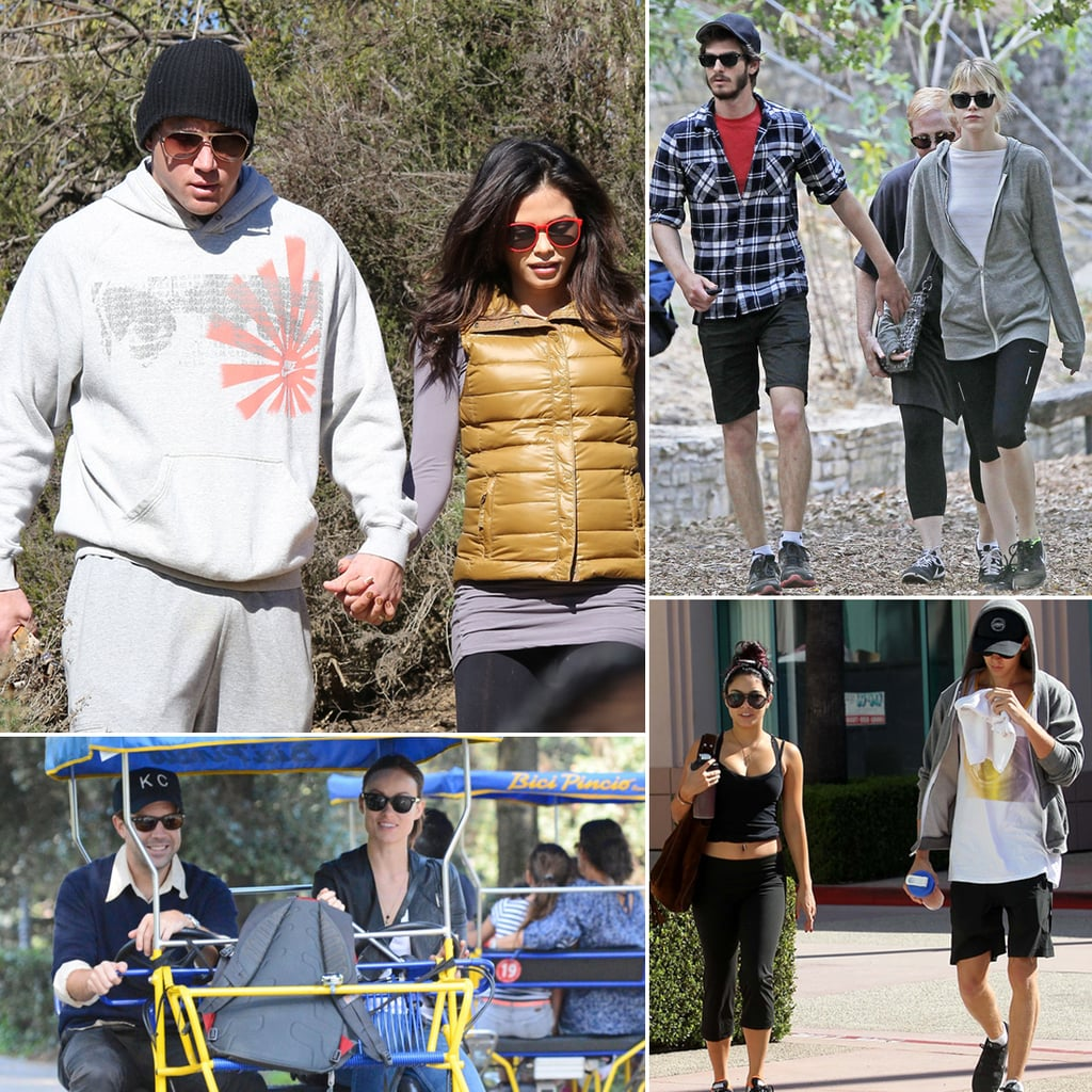 Pictures of Celebrities Couples Working Out Together