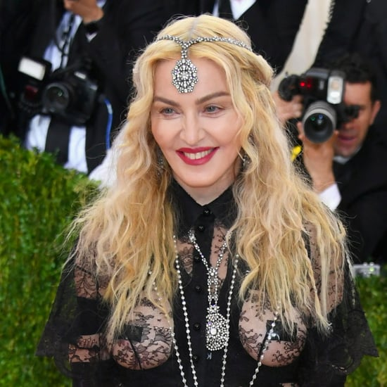 Madonna at the Met Gala 2016
