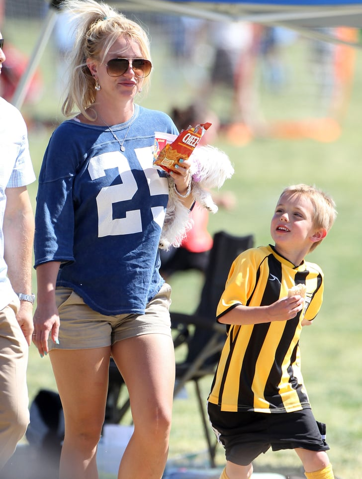 Britney Spears at Kids...