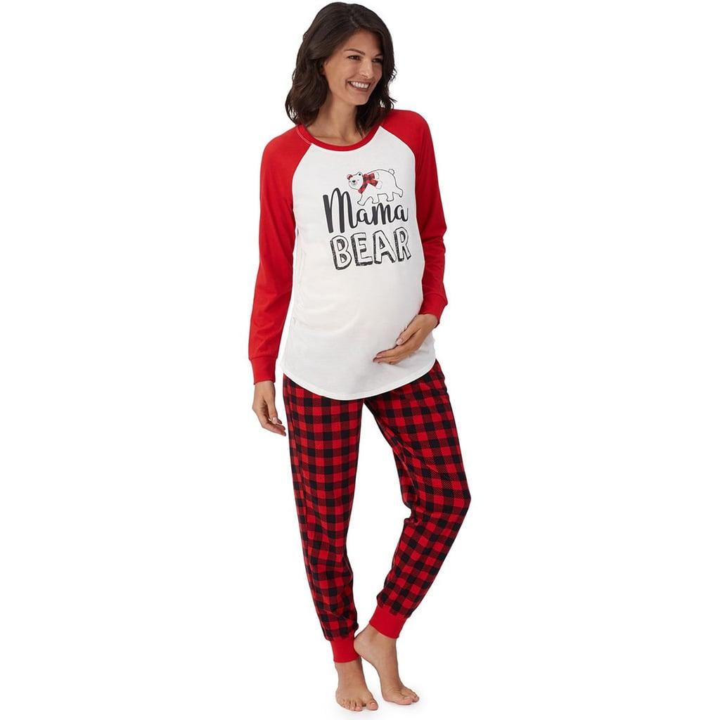 Maternity Christmas Pajamas Popsugar Family