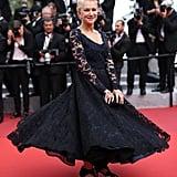 Helen Mirren Twirled and Twirled in Her Dazzling Lace Dress