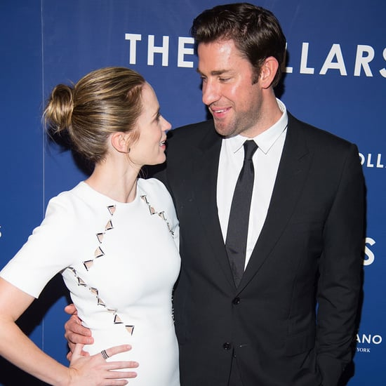 Emily Blunt and John Krasinski at The Hollars Premiere 2016