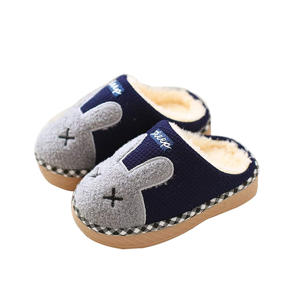 ff3a62152 Maybolury Fur-Lined Slippers | Best Cozy Slippers For Kids ...