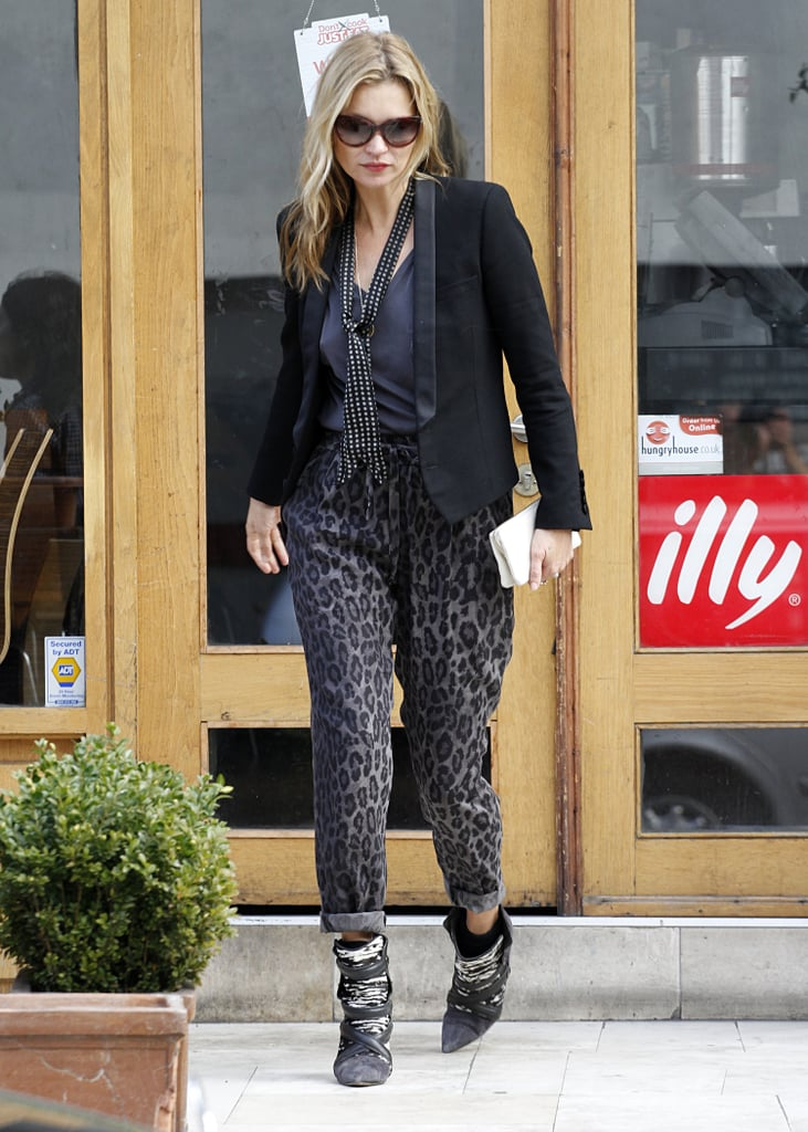 Kate Moss Having Lunch in London | Pictures