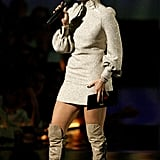 She took the stage to present an award in 2006.