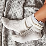 The White Company Cashmere Tipped Bed Socks
