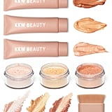 KKW Beauty Complete Body Shimmer and Brush Collection