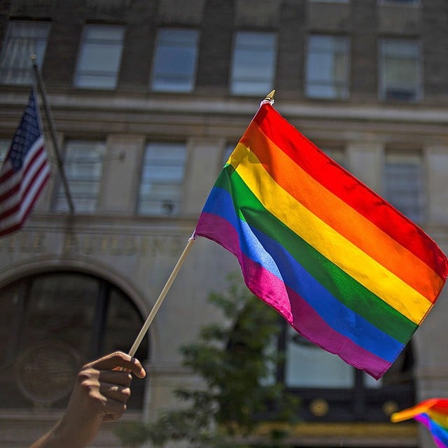 """The US Supreme Court legalized gay marriage nationwide, and President Obama says, '#LoveWins'"""