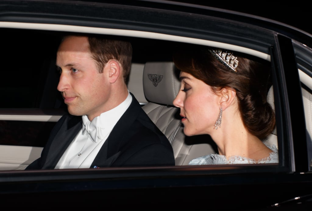 Kate Middleton Wearing the Tiara For the Diplomatic Reception in 2015