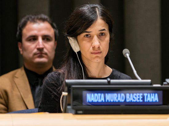 Who Is ISIS Human Trafficking Survivor Nadia Murad? Amal Clooney's Client's Harrowing Story