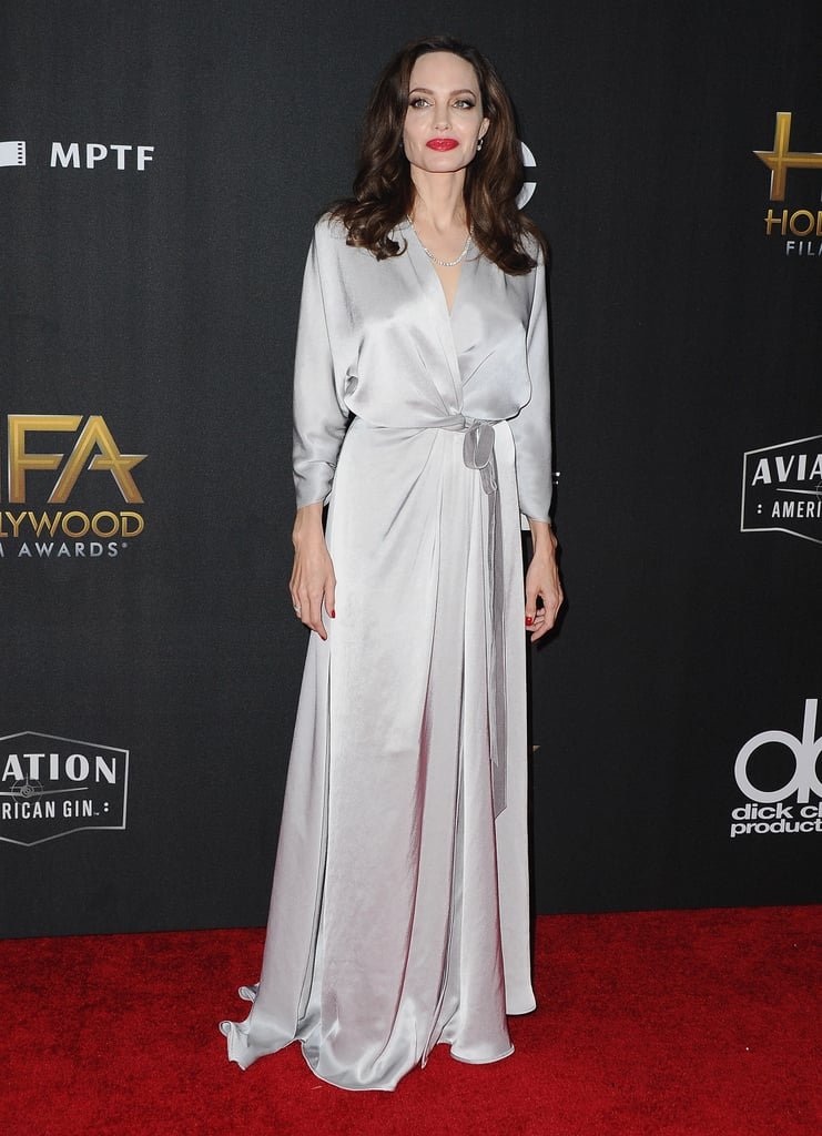 Angelina Jolie Attended the 21st Annual Hollywood Film Awards