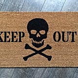 Skull and Crossbones Doormat ($37)
