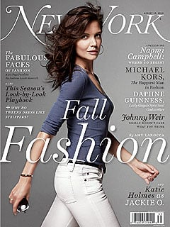 Katie Holmes in New York Magazine For The Romantics