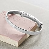 Hersey Silversmiths Child's Silver Christening Bangle