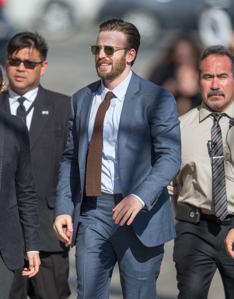 Chris Evans Out in LA April 2016
