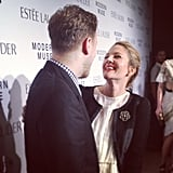 Reunited and it felt so good! InStyle's Ariel Foxman joined his September cover star Drew Barrymore on the red carpet in New York. Source: Instagram user instylemagazine