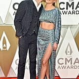 Morgan Evans and Kelsea Ballerini at the 2019 CMA Awards